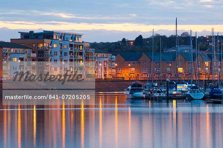 Penarth Marina, Cardiff, Wales, United Kingdom, Europe
