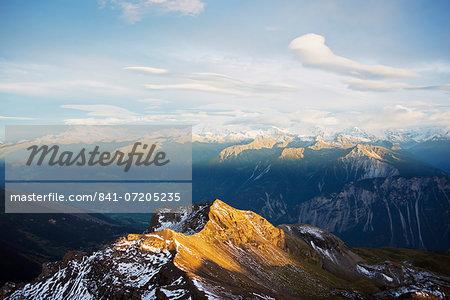 Trubelstock, 2998m, Bernese Oberland, Swiss Alps, Switzerland, Europe