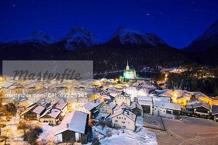 Scuol, Graubunden, Swiss Alps, Switzerland, Europe
