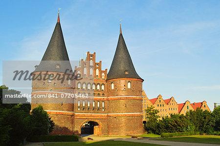Holstentor, Lubeck, UNESCO World Heritage Site, Schleswig-Holstein, Germany, Europe