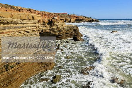 Tide pool area in Cabrillo National Monument, San Diego, California, United States of America, North America