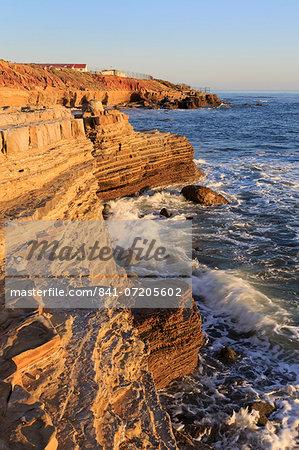 Coastline in Cabrillo National Monument, San Diego, California, United States of America, North America