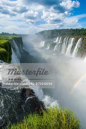 Foz de Iguazu (Iguacu Falls), Iguazu National Park, UNESCO World Heritage Site, Argentina, South America