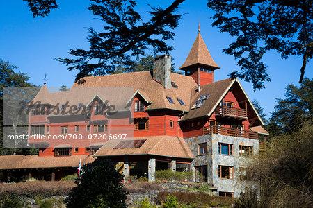 Petrohue Lodge, Petrohue, Parque Nacional Vicente Perez Rosales, Patagonia, Chile