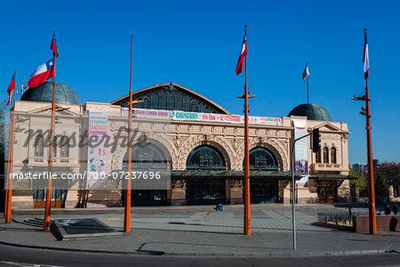 Centro Cultural Estacion Mapocho, Santiago, Chile