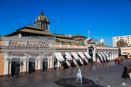 Mercado Central (Central Market), Santiago, Chile