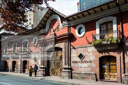 Museo de Santiago in Casa Colorado, Santiago, Chile