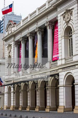 Teatro Municipal, Augustinas Street, Santiago, Chile