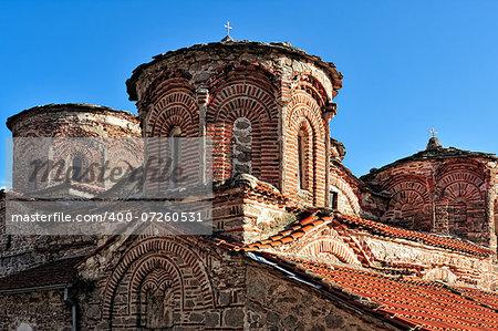 The Monastery of Treskavec or St. Bogorodica from Macedonia