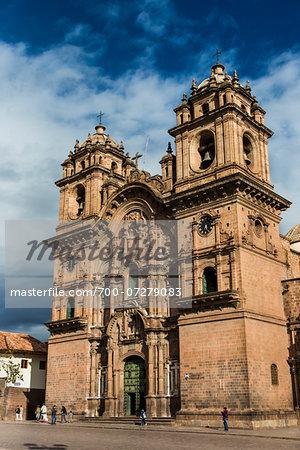Church of the Society of Jesus, Plaza de Armas, Cusco, Peru