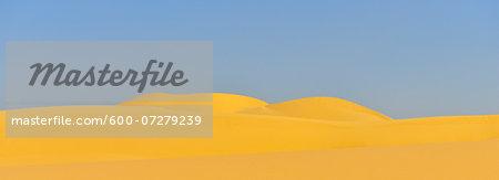 Sand Dune in Desert, Matruh Governorate, Libyan Desert, Sahara Desert, Egypt, Africa