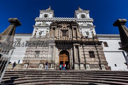 Monastery and Iglesia de San Francisco, Quito, Ecuador
