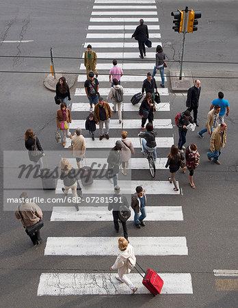 Pedestrians, Bologna, Emilia Romagna, Italy.