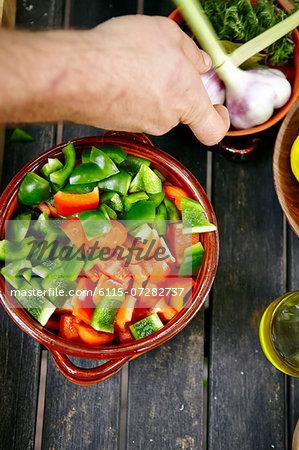 Person Preparing Food