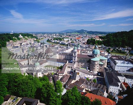 Salzburg Old Town, Austria