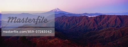 Mt. Gangaharasuri, Yamanashi, Japan