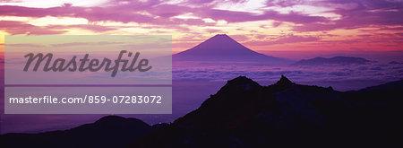 Mt. Kannon, Yamanashi, Japan