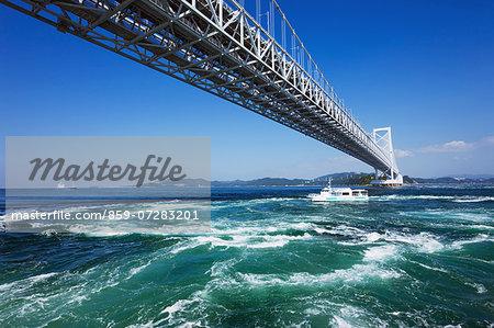 Onaruto Bridge, Tokushima, Japan