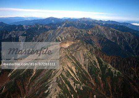 South Alps, Shizuoka, Japan