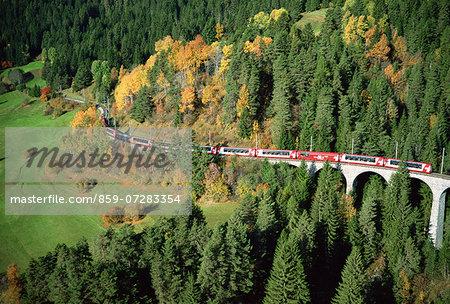 Rhaetian Railway, Switzerland