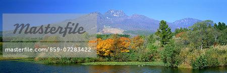 Imori Pond And Mt. Myoko, Niigata, Japan