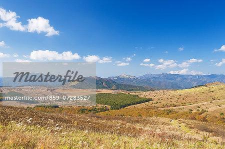 Kirigamine Highland, Nagano, Japan