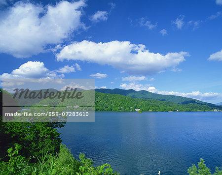Hibara Lake, Fukushima, Japan