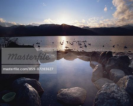 Kotan Onsen And Kussharo Lake, Hokkaido, Japan