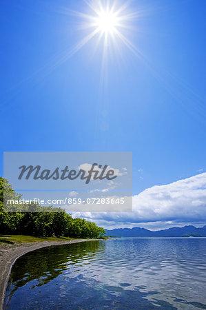 Kussharo Lake, Teshikaga, Hokkaido, Japan