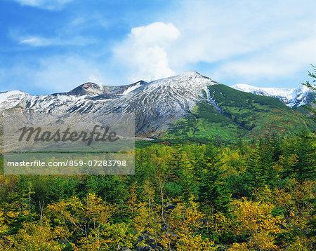 Mt. Tokachi, Hokkaido, Japan