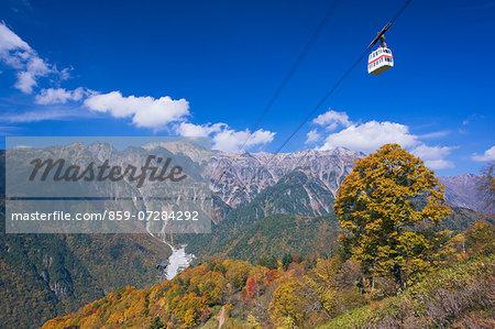 Mt. Kasaga And Shinhodaka Ropeway, Gifu, Japan