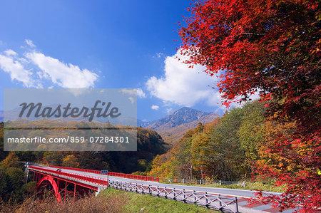Higashisawa Bridge, Yamanashi, Japan