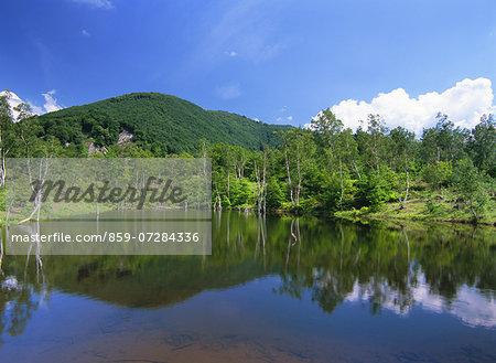 Maime Pond, Norikura Highland, Nagano,