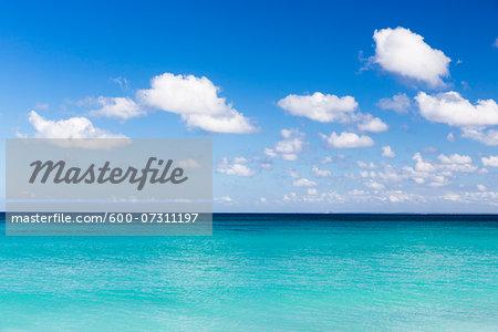 Turquoise clear water, Del Este National Park (Parque Nacional del Este), Dominican Republic, Caribbean
