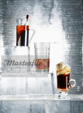 Iced Drinks, Studio Shot