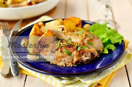 Chicken and Potato Roast