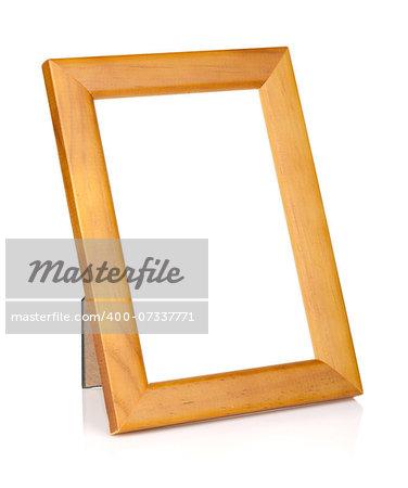 Photo frame. Isolated on white background