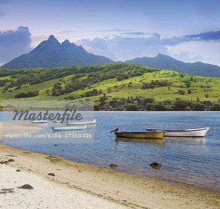 South east coast of Mauritius island