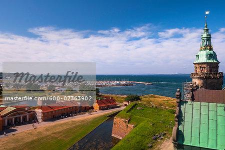 Kronborg, Helsingor, Zealand Island, Denmark