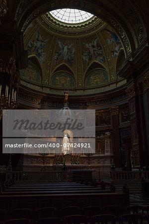 St. Stephen's Basilica is a Roman Catholic basilica in Budapest, Hungary.