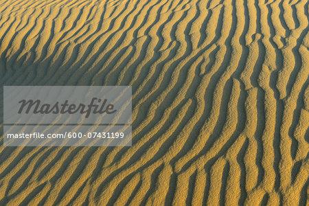 Close-up of Sand Dune Patterns, Matruh, Great Sand Sea, Libyan Desert, Sahara Desert, Egypt, North Africa, Africa