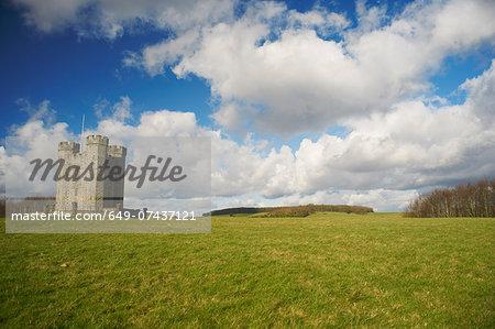 Remote historic fortress, Sussex, United Kingdom
