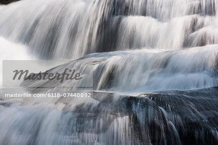 Waterfall, Grandfather Mountain State Park, North Carolina, USA