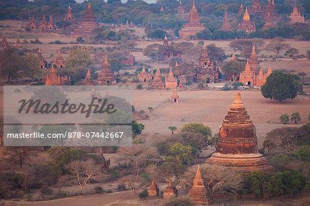 Stupas, Bagan, Myanmar