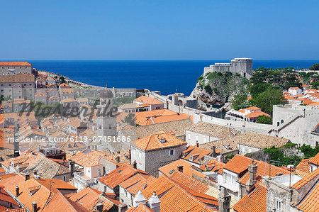 Old Town, UNESCO World Heritage Site, Dubrovnik, Dalmatia, Croatia, Europe