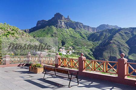 Tejeda and Roque Nublo, Gran Canaria, Canary Islands, Spain, Europe
