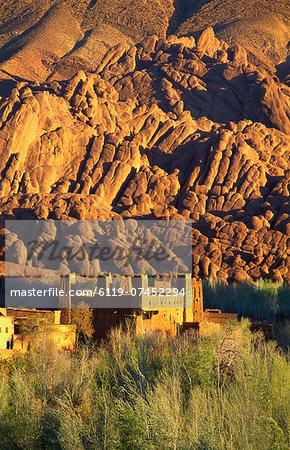 Ruin Fortress, Dades Valley, Morocco