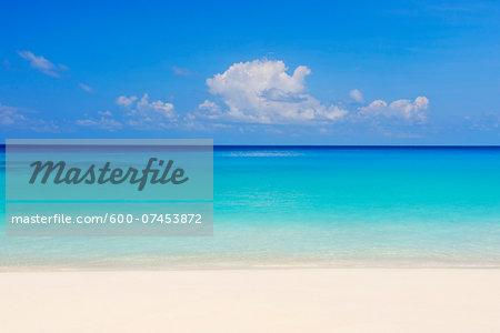 Beach and Ocean, Anse Intendance, Mahe, Seychelles
