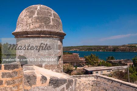 Fortress Castillo de Jagua, Cienfuegos Province, Cuba, West Indies, Caribbean