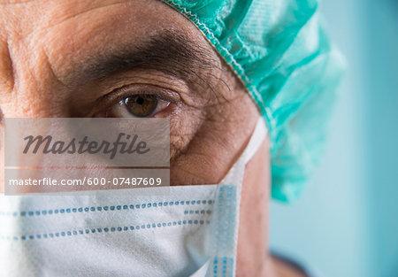 Close-up of Surgeon